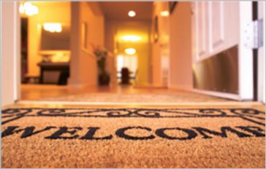 welcome mat border